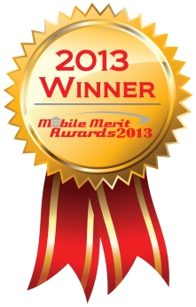 Mobile Merit Award winner 2013